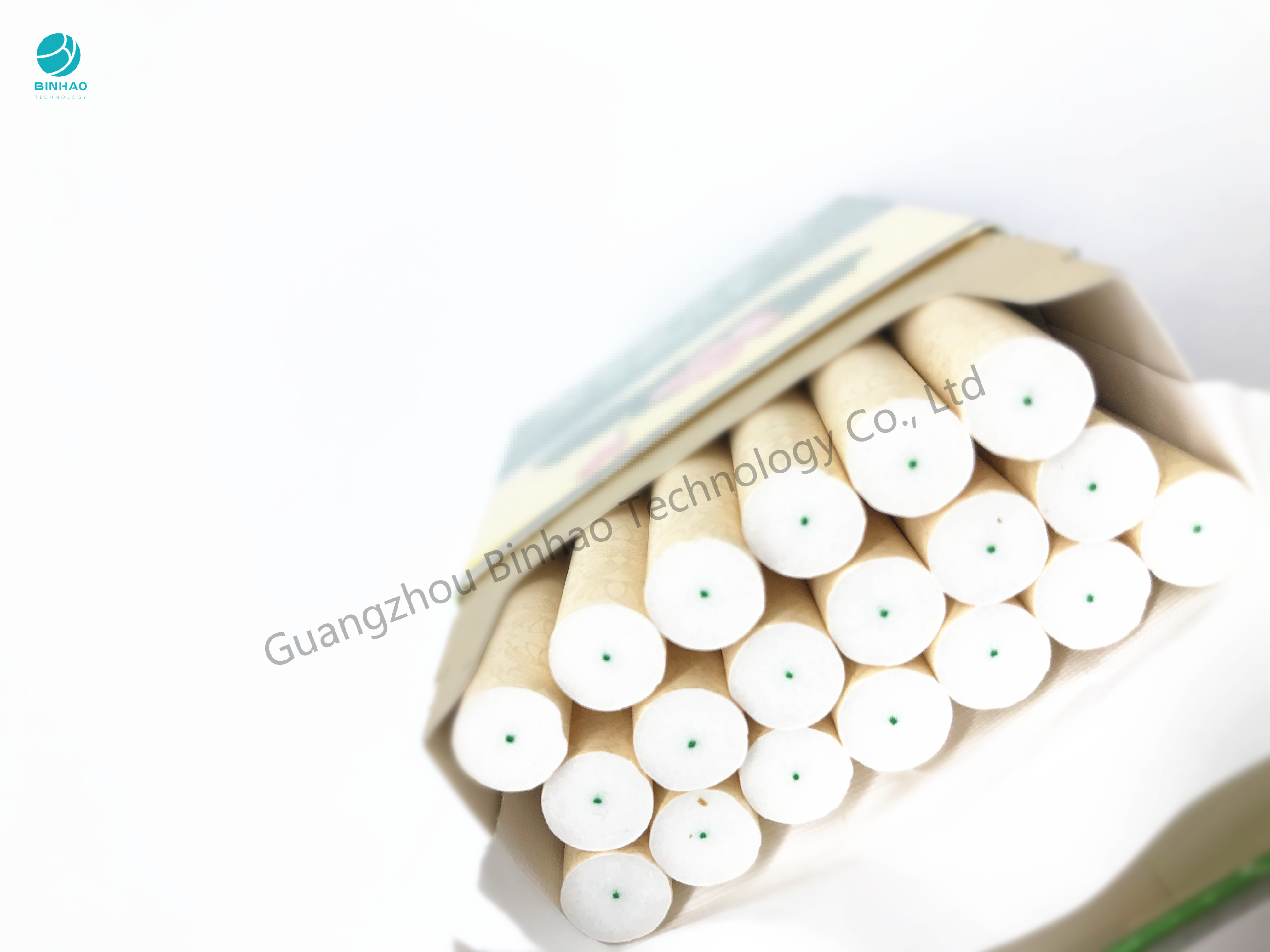 Food Grade Cotton Thread Rolls For Filter Rod Center Line 1mm Diameter
