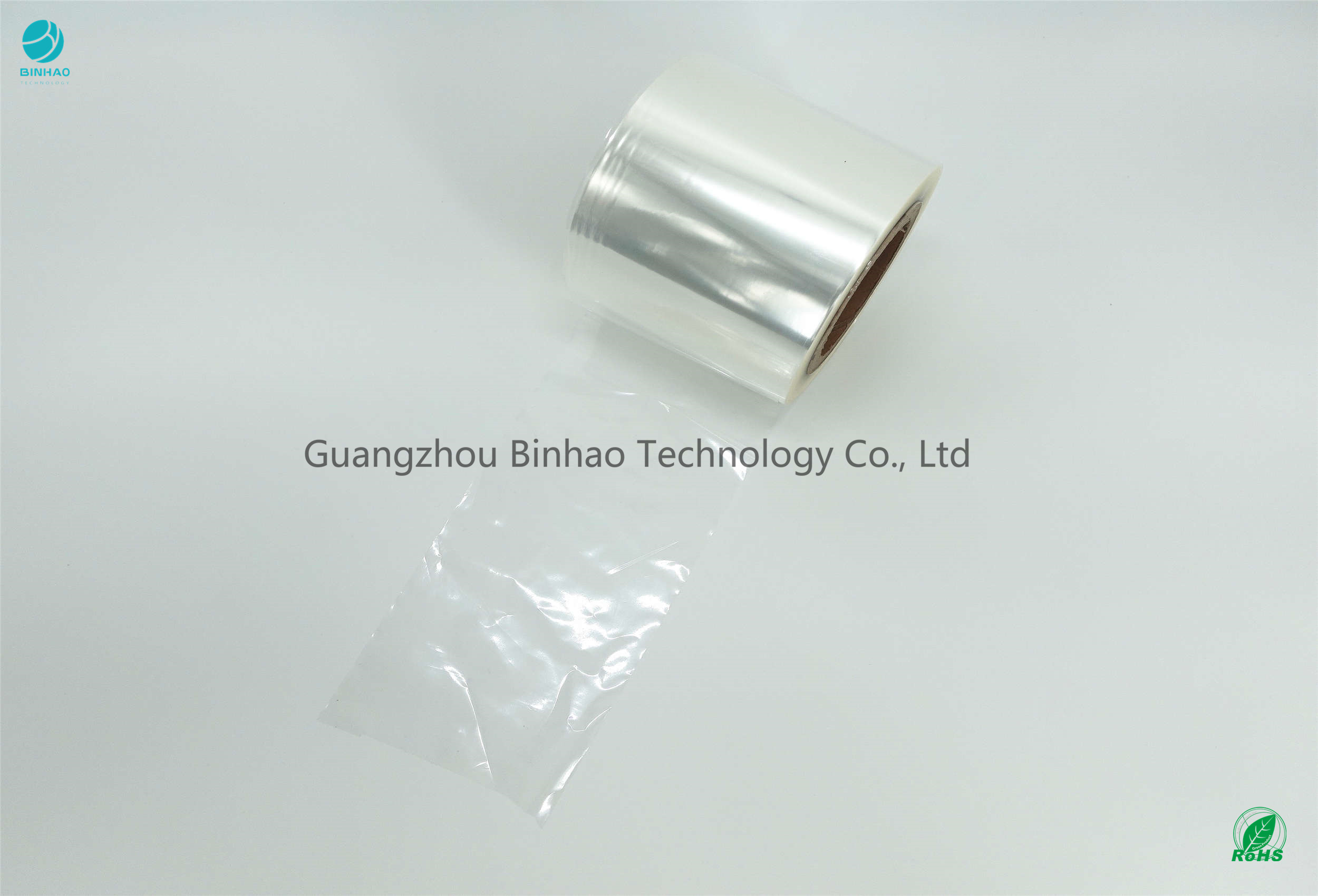 Fully Clean Transparent BOPP Film Shrinkage Middle High Rate 5%-8%